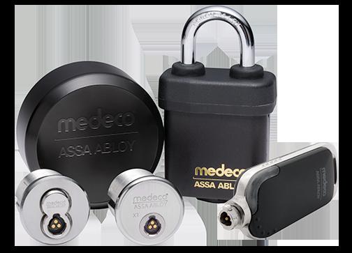 Medeco XT locking system